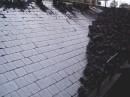 Eucorplattenbelag einer Rutsche einer Kokserei