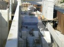 Basaltplattenbelag 200x200x30 in einer Betonkonstruktion des Kraftwerks Alpen