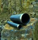 Basaltrohre zum Vortrieb