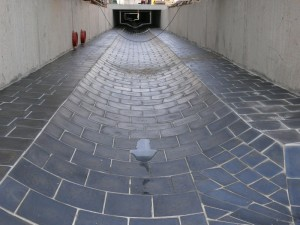 Boden eines atypischen Kanals in Ceské Budejovicích 2