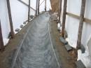 Verkleidung eines Kanalbodens R400