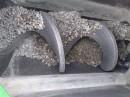 Basaltrinne in einem Schneckenförderer