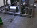 Fußboden in einer Brauerei