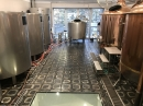 Basalt tiles - industrial floor - brewery 2