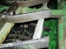 Sechseckige Auskleidung eines Redler-Förderers mit Basalt